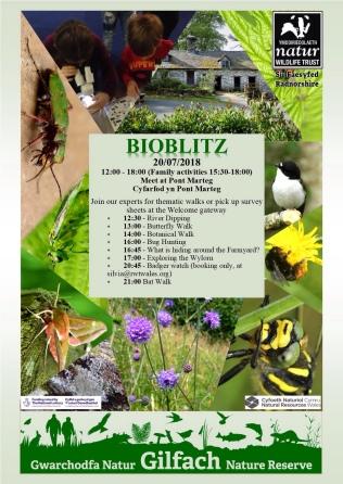 time table bioblitz